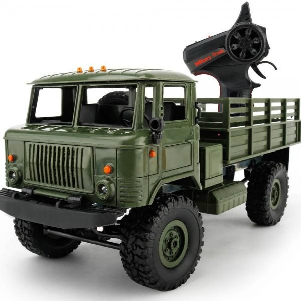 s-idee® Military Truck mit 2,4 GHz 4WD bis 10 km/h 1:16